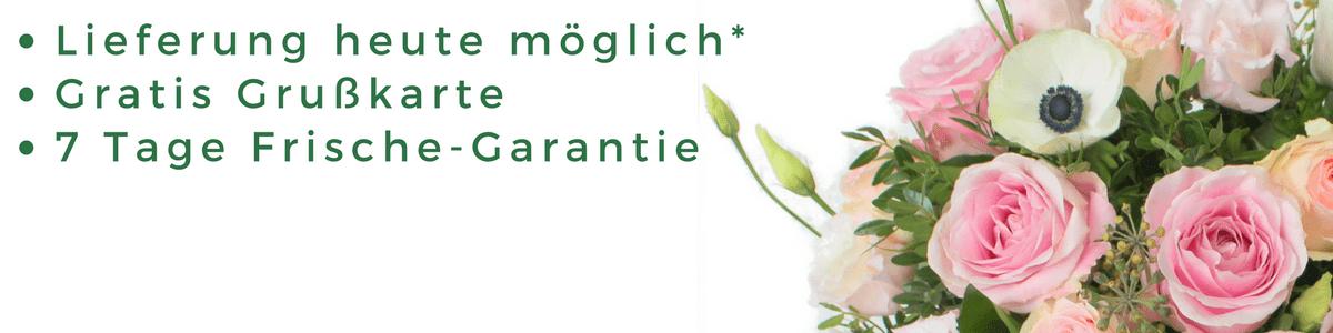 Blumenversand Deutschland - Blumen in Deutschland verschicken mit 24blooms