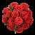 Blumenversand - rote Rosen verschicken