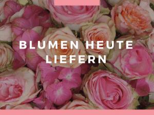 Blumenversand per Express verschicken. Blumen-Lieferung heute in Deutschland