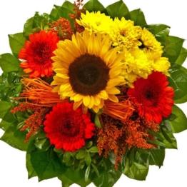 Blumenstrauß Herbstbote