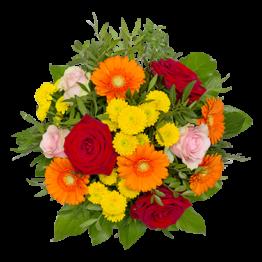 Die besten Glückwünsche Blumenstrauß