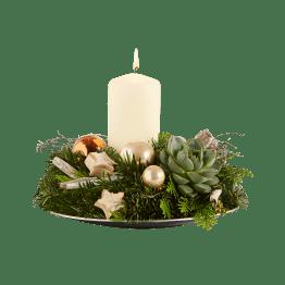 Adventskranz Leuchtender Advent