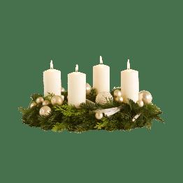 Adventskranz Lichterzauber