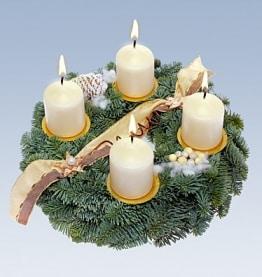 Adventskranz Weihnachtsengel