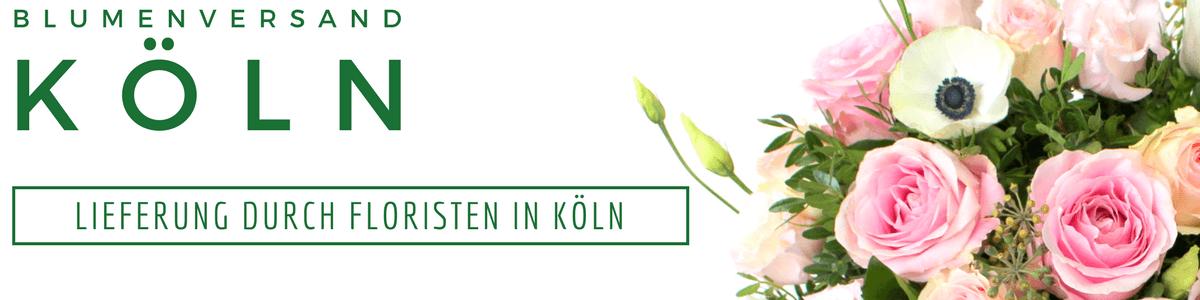 Blumenversand Köln - Blumenlieferservice - Blumen in Köln verschicken per Express