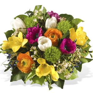 Blumenstrauß Frühling - Blumen verschicken in München