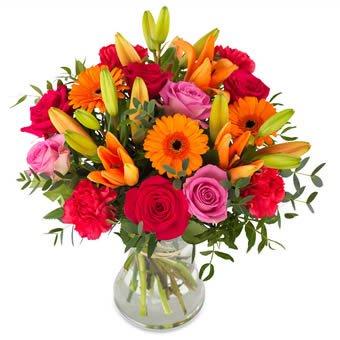 Flowers bouquet color