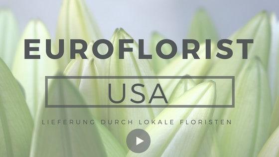 Blumen in die USA schicken Blumenversand USA