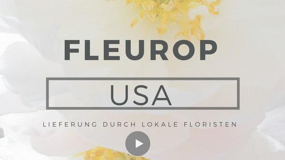 Blumenversand USA Blumen in die USA schicken Fleurop