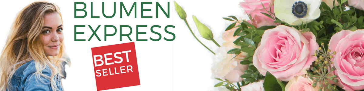 Blumen Express - Blumenversand - Blumen heute liefern lassen