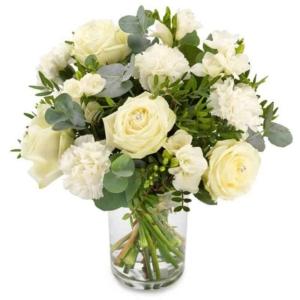 Blumenversand nach Polen - weiße Blumen