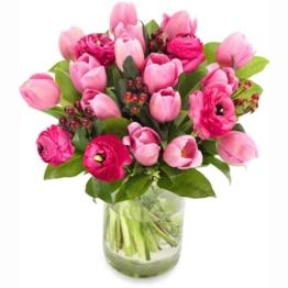 Blumen verschicken - Blumenversand Pink Tulip