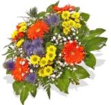 """Blumenstrauß Blumenversand """"Dankeschön...!"""" +Gratis Grußkarte+Wunschtermin+Frischhaltemittel+Geschenkverpackung - 1"""