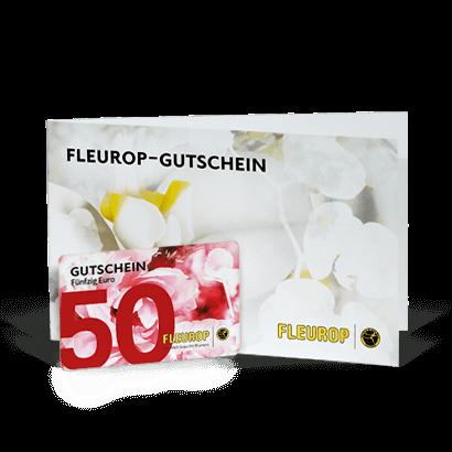 fleurop gutschein 50 Euro
