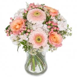 Blumenversand - Rosa Blumenstrauß