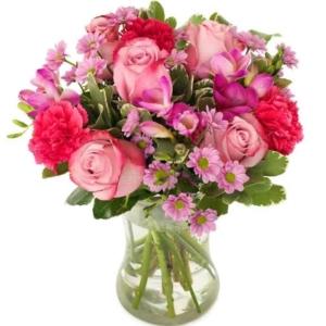 Großes Herz - Blumenversand 1 A