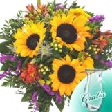 Blumenstrauß Sommerfest mit Vase