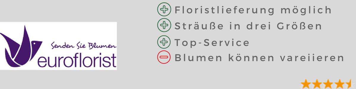Euroflorist Test - Berichte Blumenversand