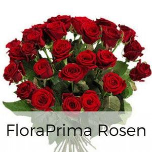 Rosebote - Rosenstrauß mit Karte