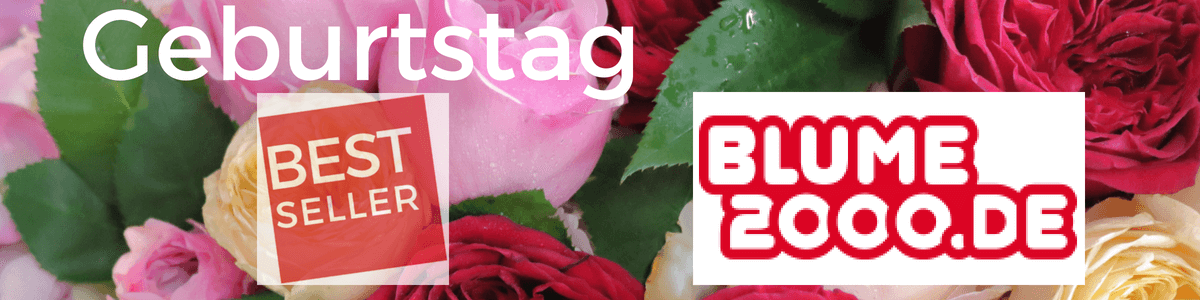 Geburtstagsblumen - Blumenstrauß