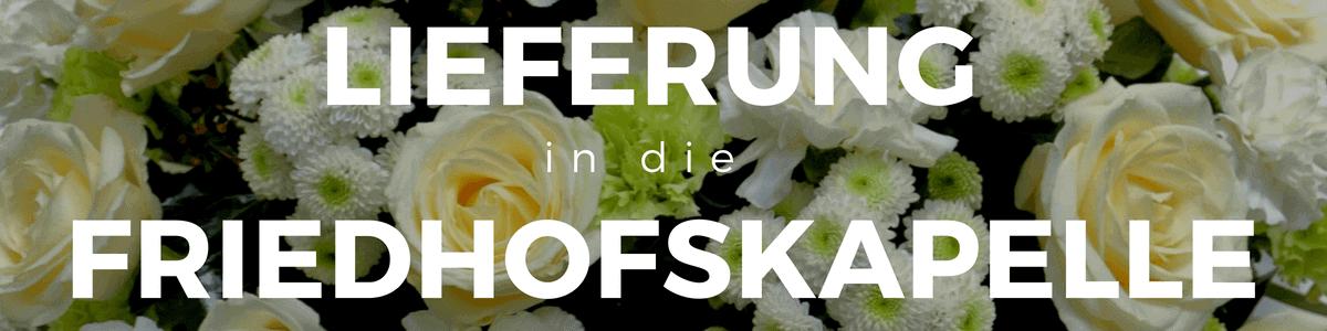 Online Trauerkranz mit Schleife - Beerdigungskranz - Lieferung in die Kapelle