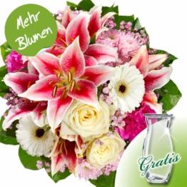 Blumenstrauß Träumerei mit Vase