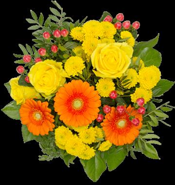 Blumenstrauß Glücksgefühle