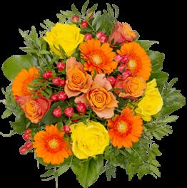 Glücksmomente-Blumenstrauß