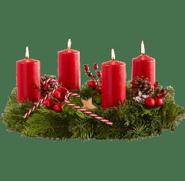 Adventskranz Süße Weihnacht