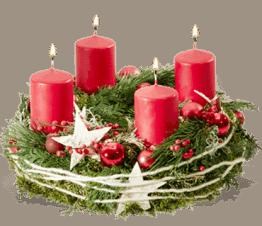 besinnlichkeit adventskranz