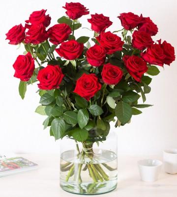 Blumenstrauß Rote Rosen