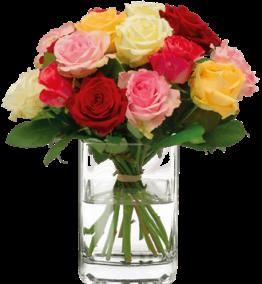 Rosen bunt Fleurop