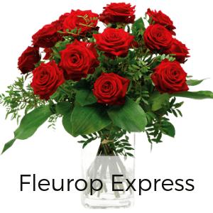 Rote Rosen verschicken per Express - Rosenversand heute mit Karte