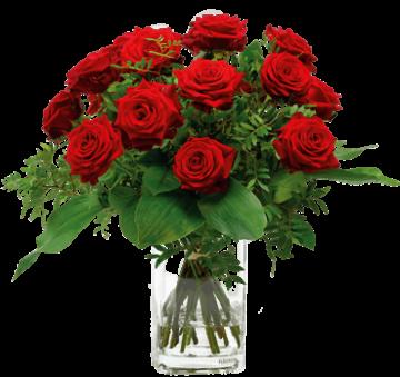 Rote Rosen - verschicken - Ich liebe Dich - Rosenstrauß