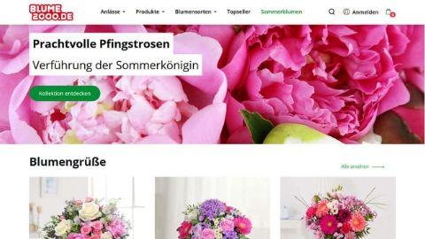 Blumen verschicken: Test Blumenverand Blume2000