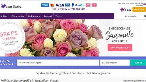 Blumenversand Test - Euroflorist - Blumen verschicken