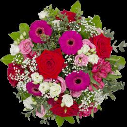 Blumenstrauß Herzenswärme