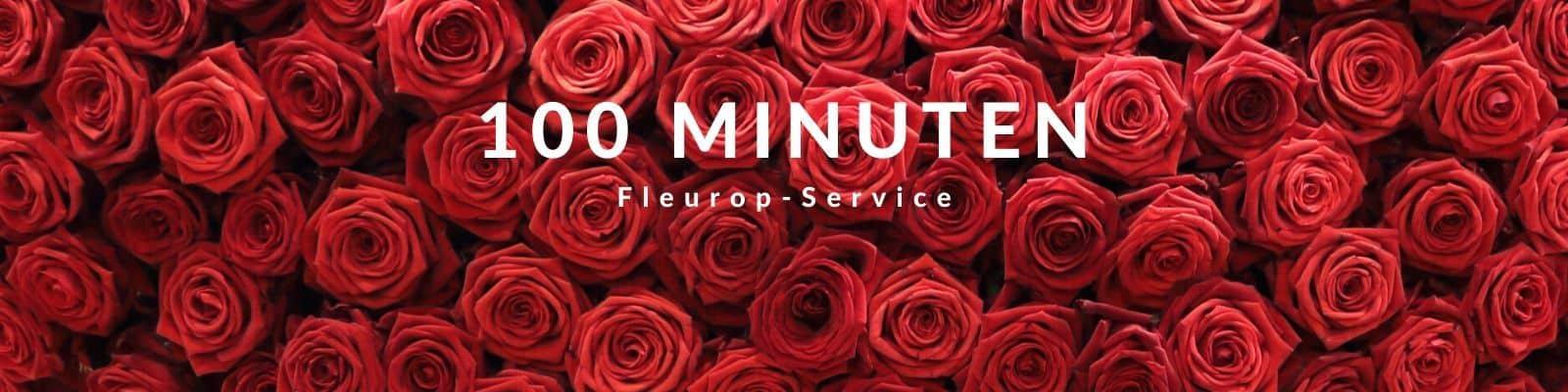 100 Minuten Fleurop - Service Die Blumen 24 Stunden Lieferung