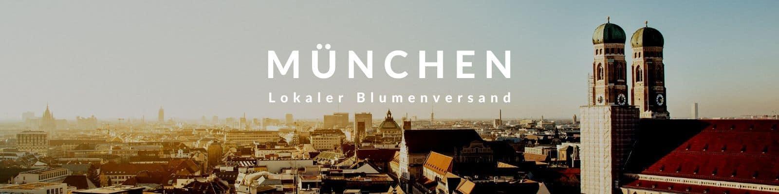 Blumen verschicken München - Fleurop Blumenversand in München
