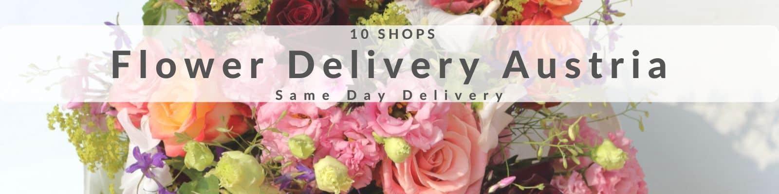 Flower Delivery Austria - Send Flowers to Austria