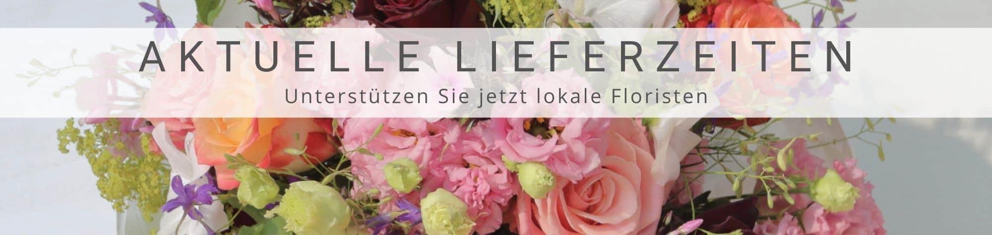 Lokale Blumenlieferung - Blumen verschicken Floristen vor Ort