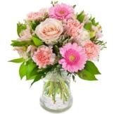 Blumen verschicken -Pinke Pracht - Blumenversand Euroflorist