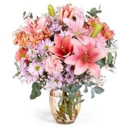 Blumenstrauß Rosa Frühling