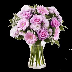 Gerbera und Rosen