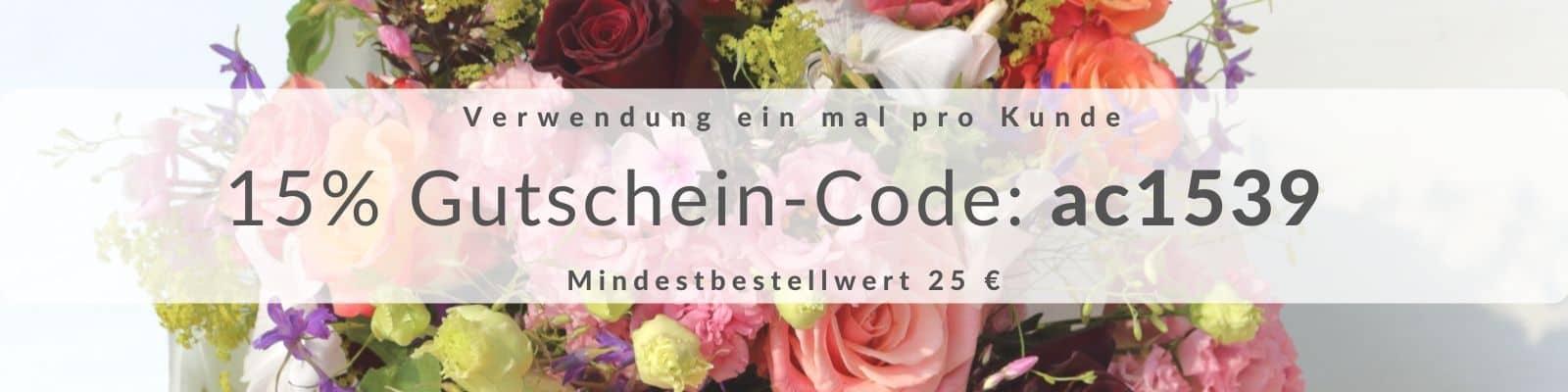 Blumen Gutschein Code Blumenfee