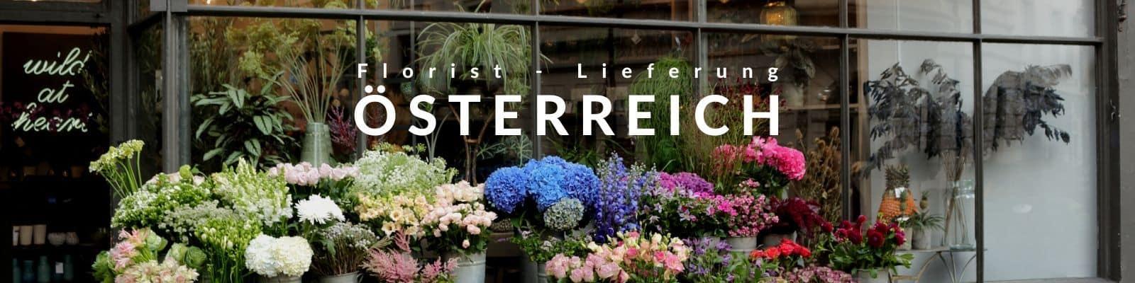 Blumen verschicken Österreich - Blumenversand in Österreich