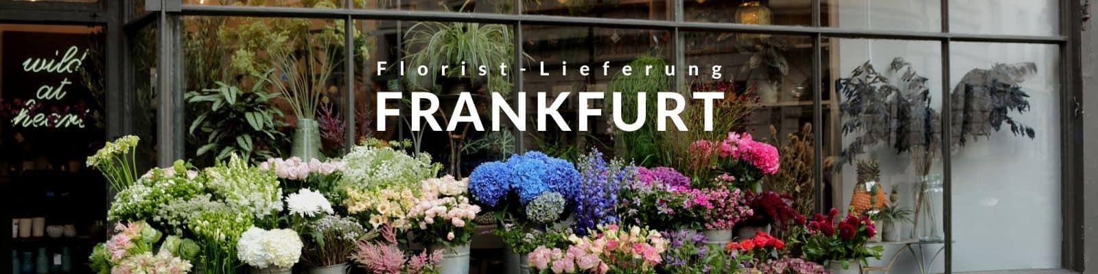 Blumen verschicken Frankfurt - Blumenversand Express
