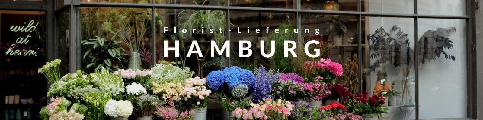 Blumen verschicken Hamburg - Blumenversand Hamburg per Express Lieferservice