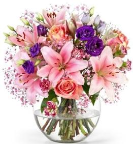 Blumenversand Lidl pink