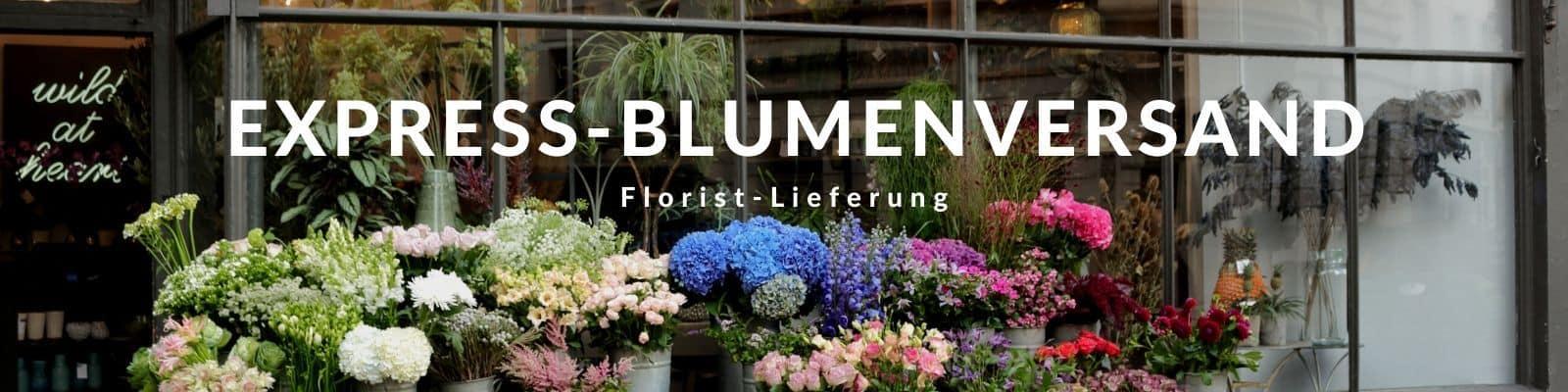 Blumen per Express verschicken - Blumenversand - heute liefern